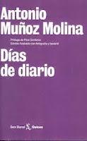 """Portada de """"Días de diario"""", de Antonio Muñoz Molina"""
