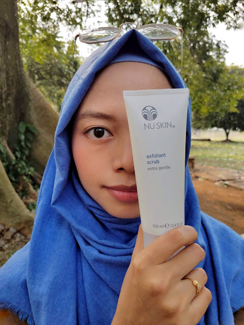 Review Nu Skin Exfoliant Scrub Extra Gentle