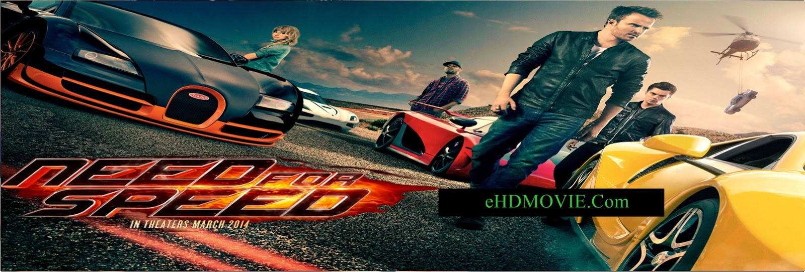 Need For Speed 2014 Full Movie Dual Audio [Hindi – English] 720p - HEVC - 480p ORG BRRip 450MB - 650MB - 1.2GB ESubs Free Download