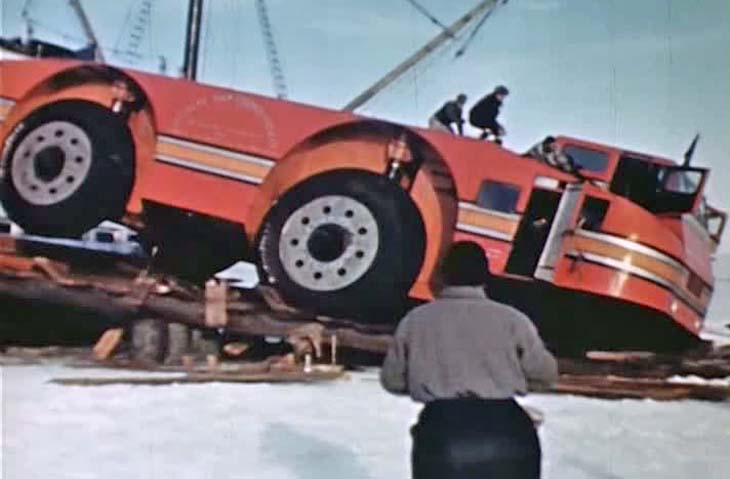 15 January 1940 worldwartwo.filminspector.com Admiral Byrd snow cruiser