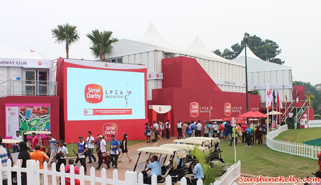 Women with Drive, Sime DarbyLPGA Malaysia 2015, Kuala Lumpur Golf & Country Club, KLGCC, KL Food Truck Festival, Lydia Ko, Michelle Wie, Lady Golf Tournament, Jessica Korda, Breast Cancer Awareness Month, Pink Saturday, Sponsors Village