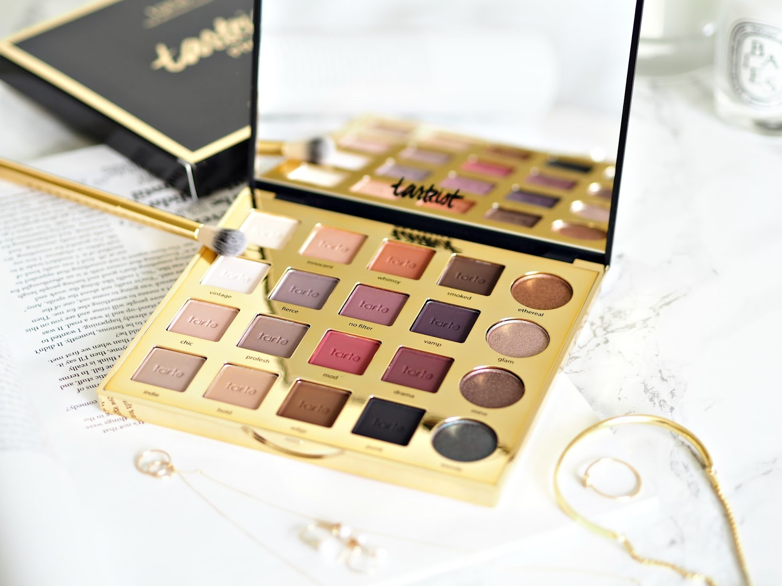 Tarte Pro Amazonian Clay Eyeshadow Palette Review & Swatches