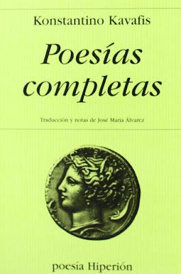 Poesías completas de Constantino Cavafis