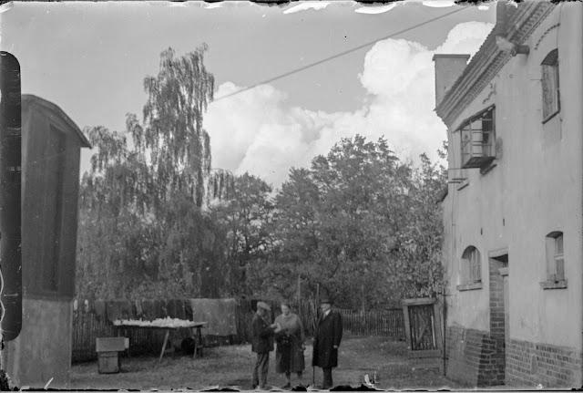 Gundorf Wolken über Mühle - ca. 1930-1940