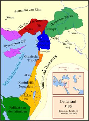 Midden Oosten in 1135
