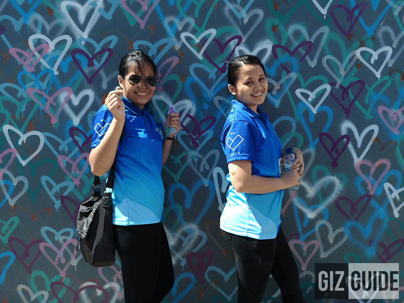 The #WeLovePhoto girls of ASUS