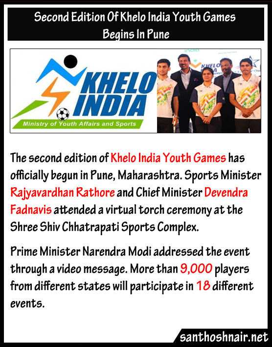 Second Edition of Khelo India Youth Games begins in Pune