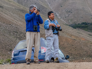 Marcelo Olivares y Javier Briceño
