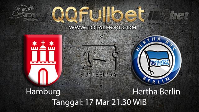 BOLA88 - PREDIKSI TARUHAN BOLA HAMBURG VS HERTHA BERLIN 17 MARET 2018 ( GERMAN BUNDESLIGA )