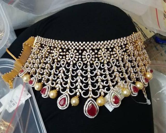Grand Diamond Chokers by Vajra jewelry