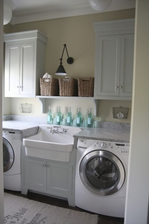 20 Laundry room Ideas - Place to clean clothes | Home ... on Laundry Decor Ideas  id=55009