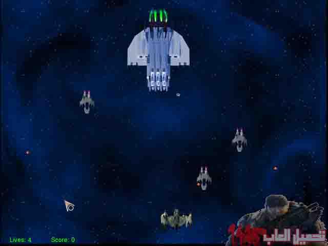 لعبة حرب الفضاء Able astronaut