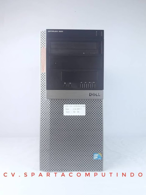 PC Dell Optiplex 960 core 2 duo Tower Bergaransi