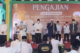 Kusdinar Untung Yuni Sukowati Hadiri Pegajian Bersama Habib Syech bin Abdul Qodir Assegaf di Sragen