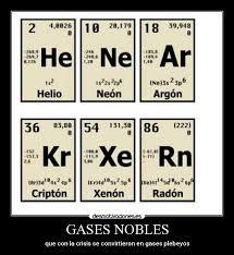 Tukimica todos los elementos qumicos quieren parecerse a los gases nobles ya que stos tienen su capa ms externa completa en realidad los tomos para urtaz Gallery