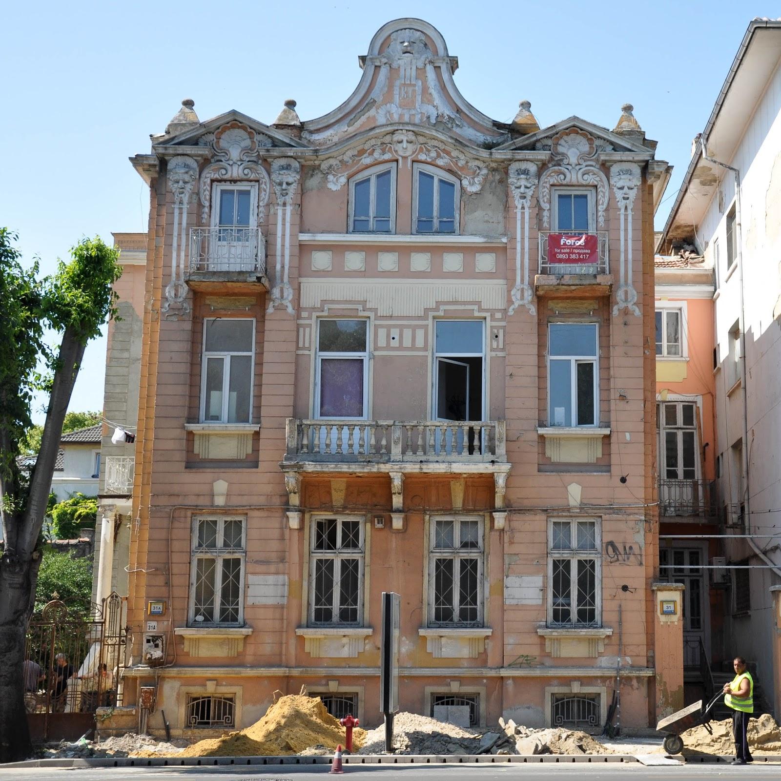 Resurfacing the pavements, Varna, Bulgaria