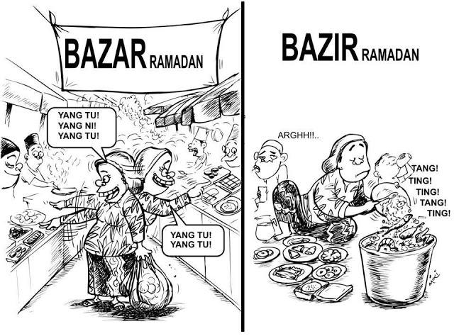 Jangan Membazir Di Bulan Ramadhan