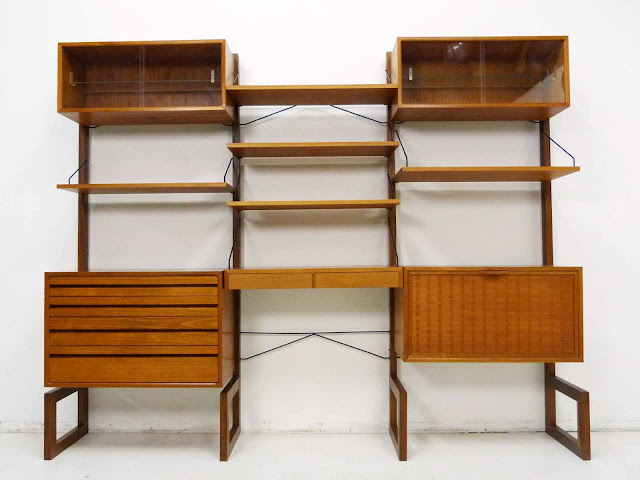 Poul Cadovius for Cado Royal System Danish ModernTeak Wall Unit 1