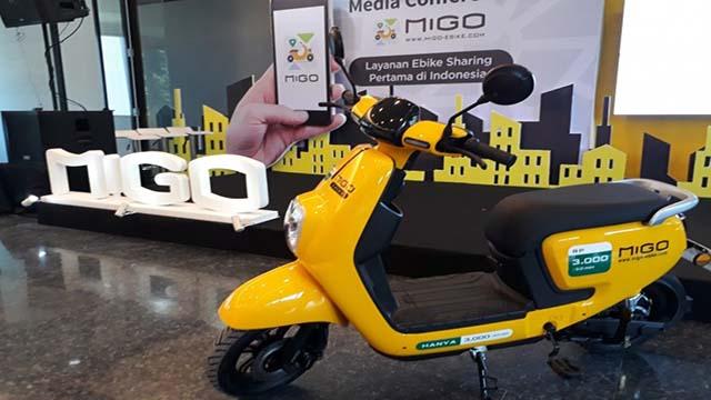 Migo Ebike Layanan Sewa Sepeda Listrik