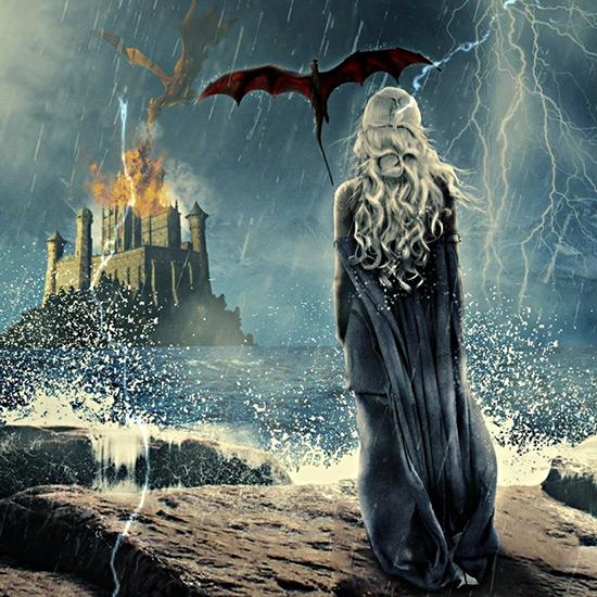 Khaleesi - Mother of Dragons Wallpaper Engine
