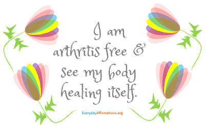 Health Affirmations for Arthritis2