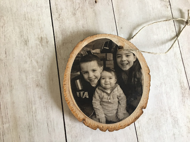 silhouette studio, sihouette tattoo paper, silhouette cameo, wood slice projects, wood slice photo ornaments