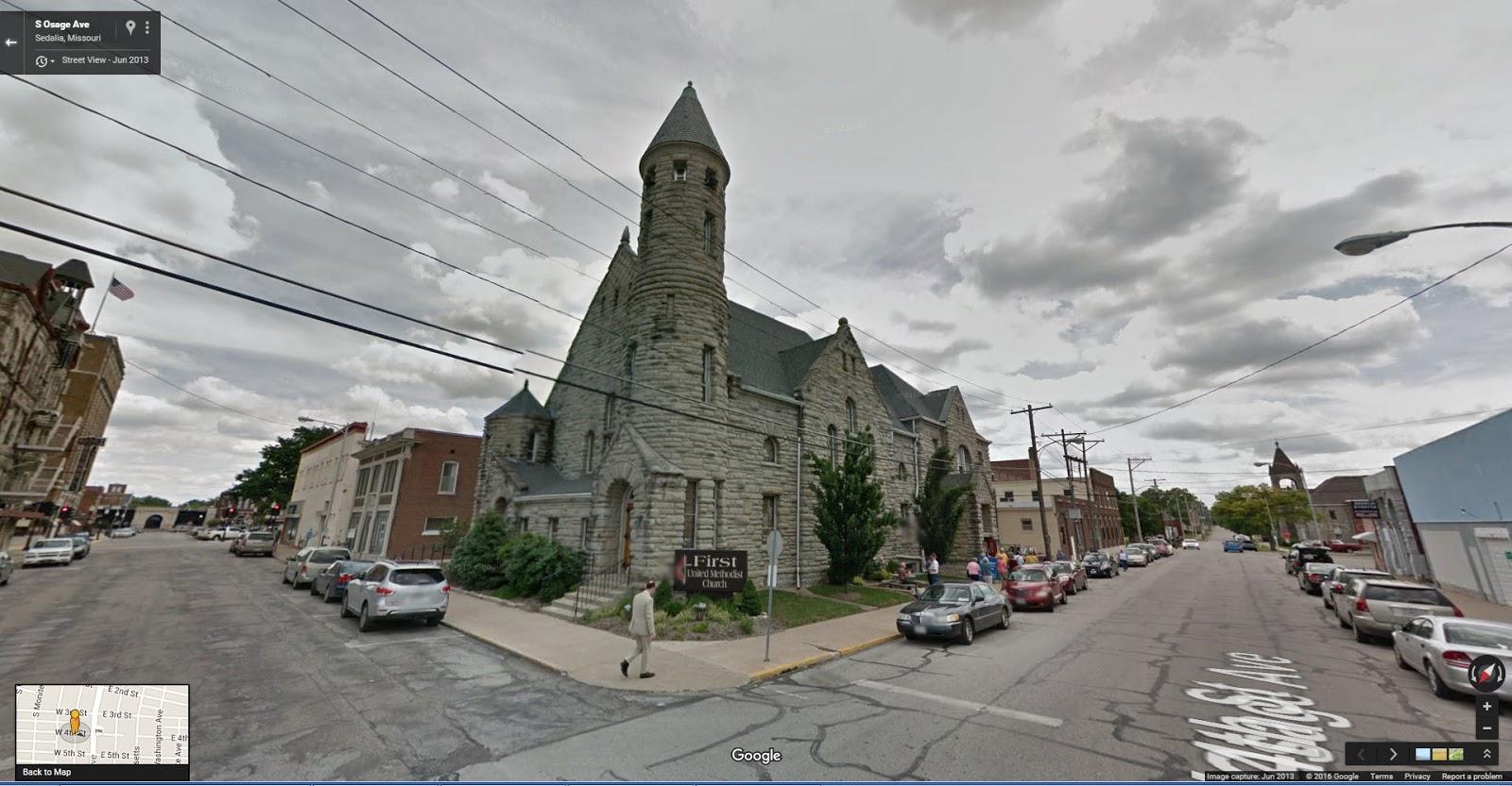 Capt  Spaulding's World: Fire destroys First United Methodist Church