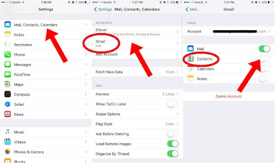 Transferring Contacts From Android To IPhone