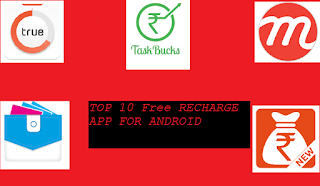 Top 10 Free Recharge Apps For Android
