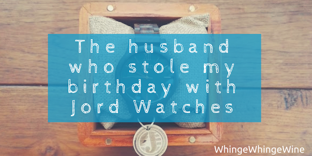 Sharing a birthday: The husband who stole my birthday - With Jord Wood Watches