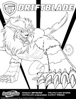 Monsuno Coloring Sheet