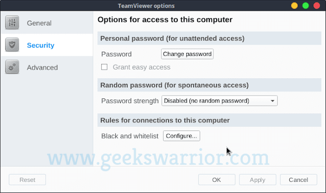 How to Set Permanent Password in Teamviewer