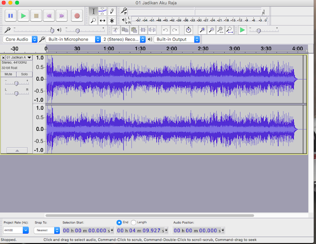Menghilangkan Vocal / Membuat Lagu Menjadi Karaoke