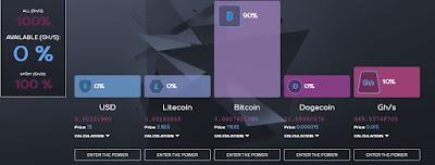 Situs Mining Bitcoin Otomatis dan Terpercaya Bonus Pendaftaran Gratis 100 GHS dan Power 50% (SCAM) 16