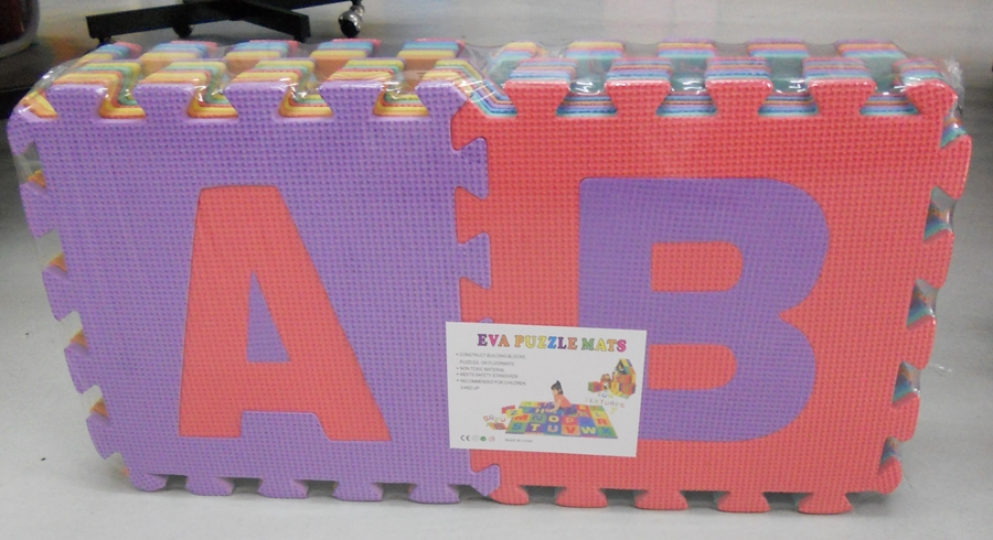 Bongbongidea Eva Foam Puzzle Mat Large 26 Pcs Alphabets