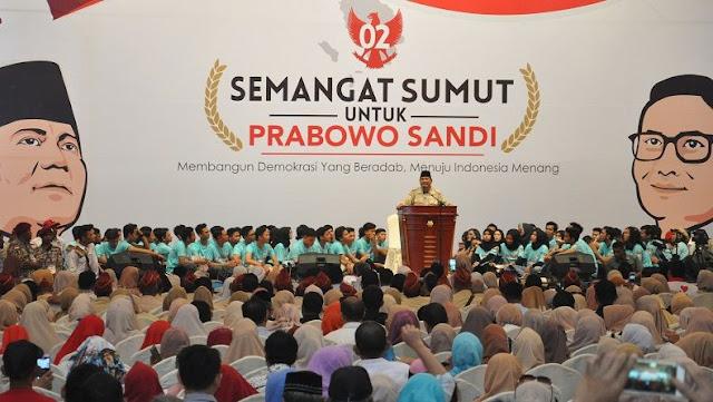 Prabowo Bertekad Habiskan Sisa Hidup untuk Bela Kepentingan Rakyat
