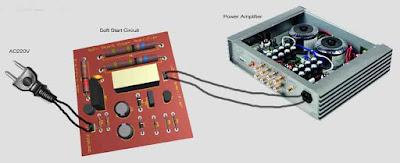 wiring diagram soft start circuit