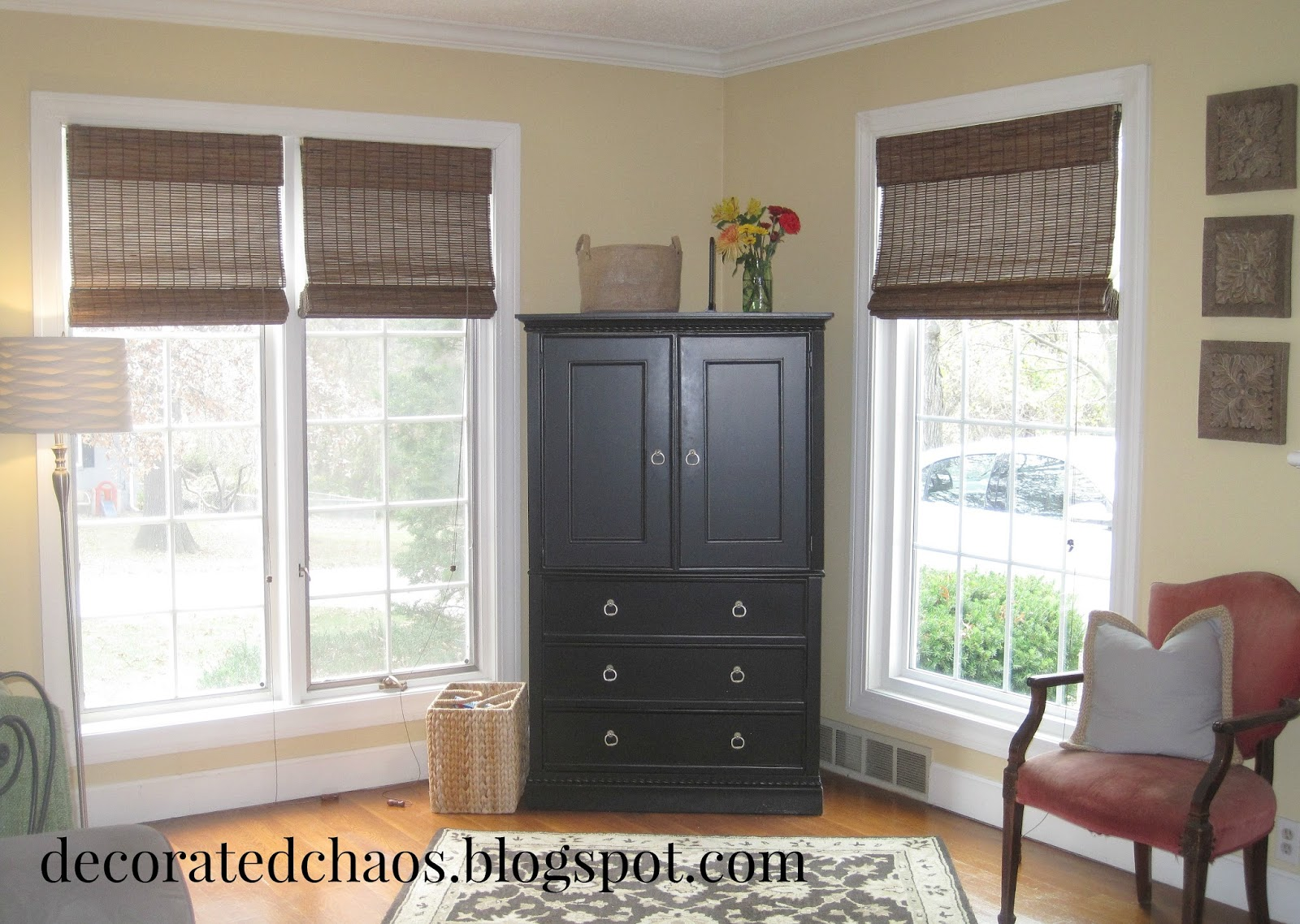 Decorated Chaos New Bamboo Shades From Blinds Com