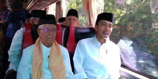 Kampanye Terbuka, Jokowi-Ma'ruf Bidik Unggul di Sumatera
