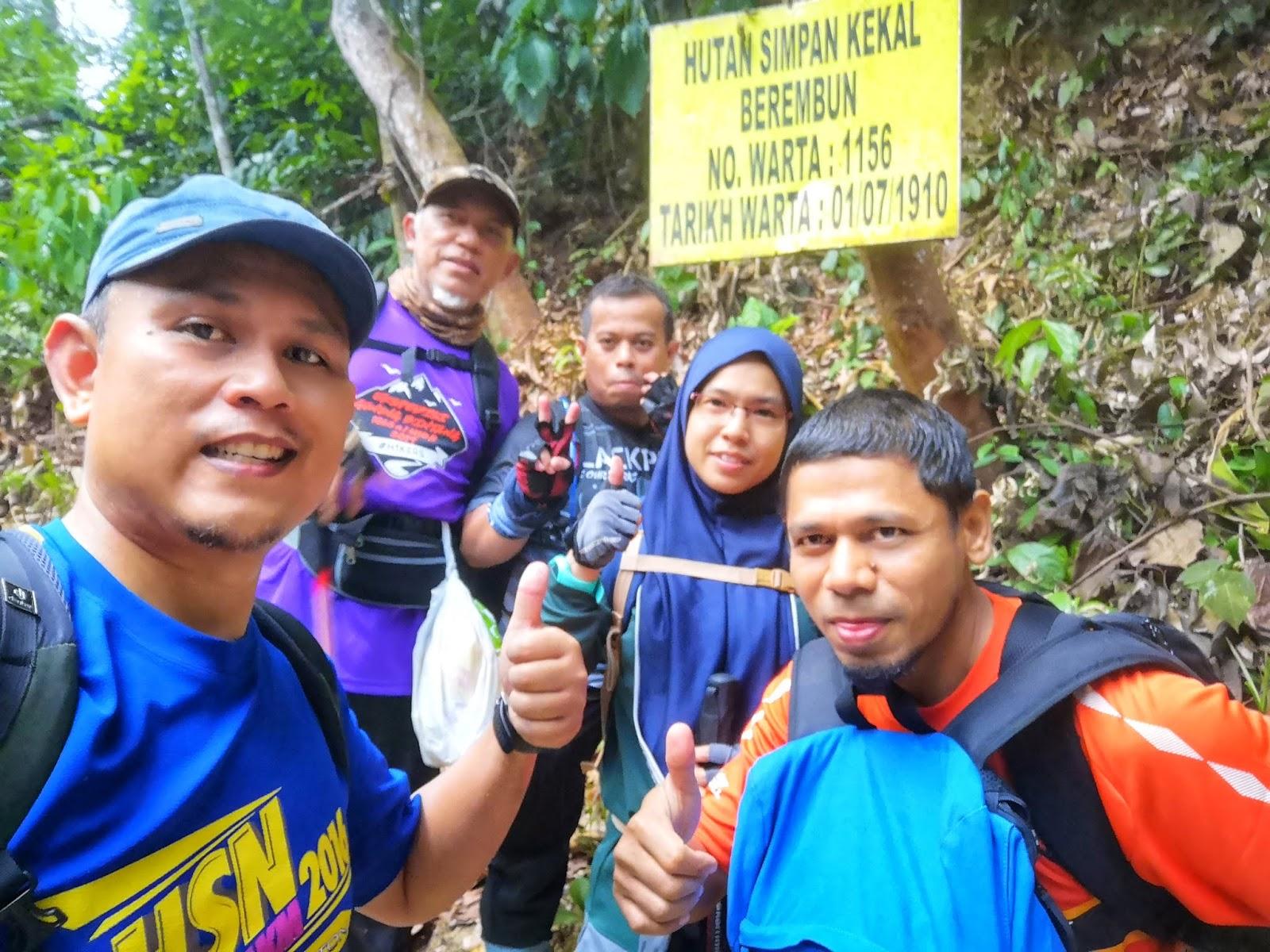 Mendaki Gunung Telapak Buruk & Gunung Berembun, Jelebu 2