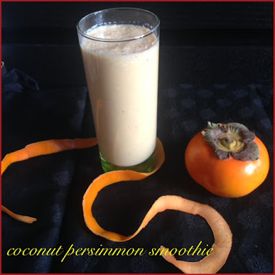 Coconut Persimmon Smoothie