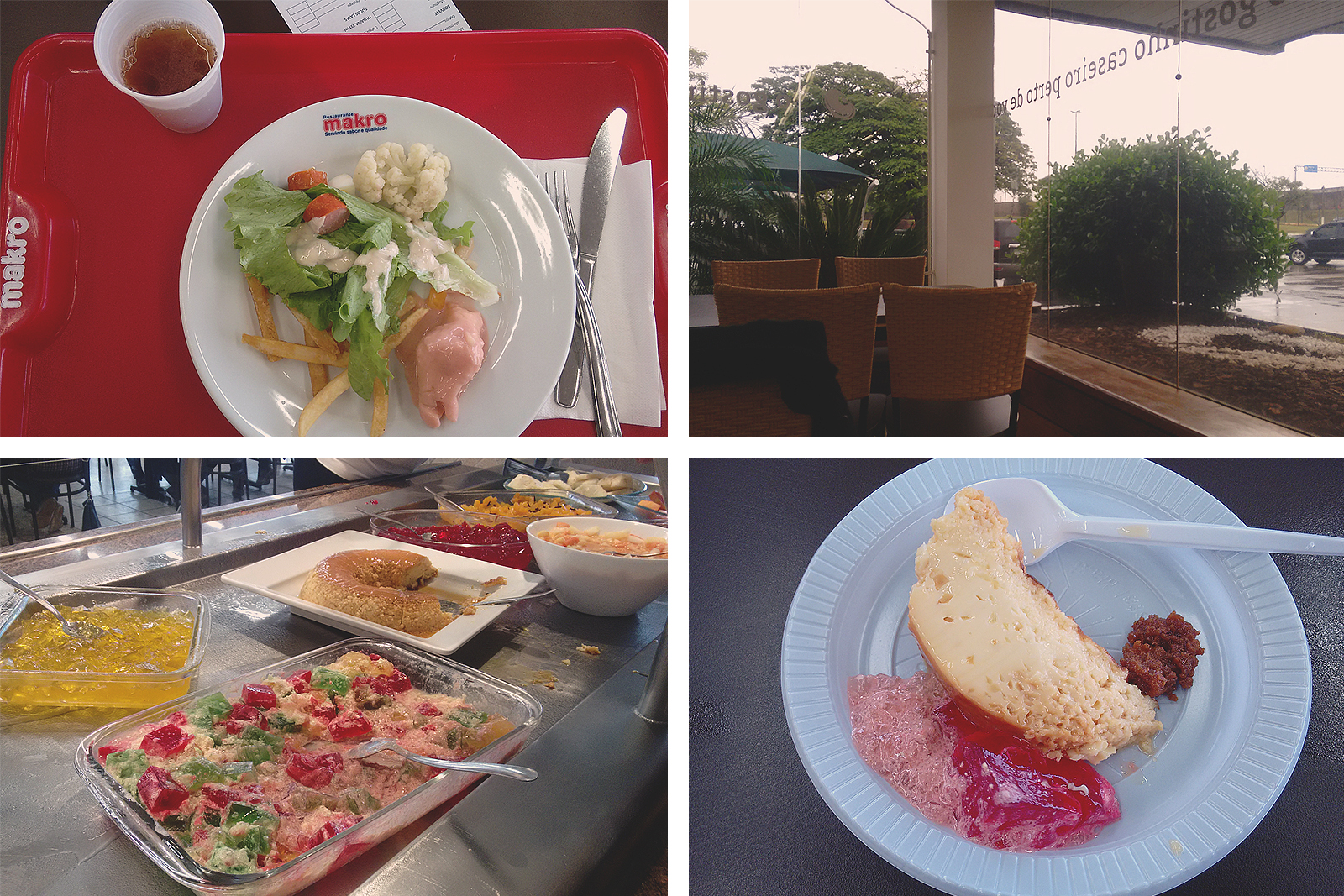 comidas restaurante makro