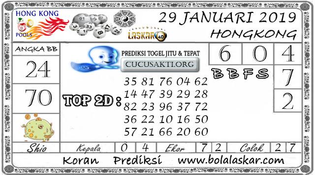 Prediksi Togel HONGKONG LASKAR4D 29 JANUARI 2019