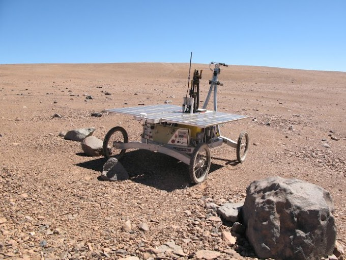 A Rover Has Found Strange Bacteria in One of Earth's Most Alien Places