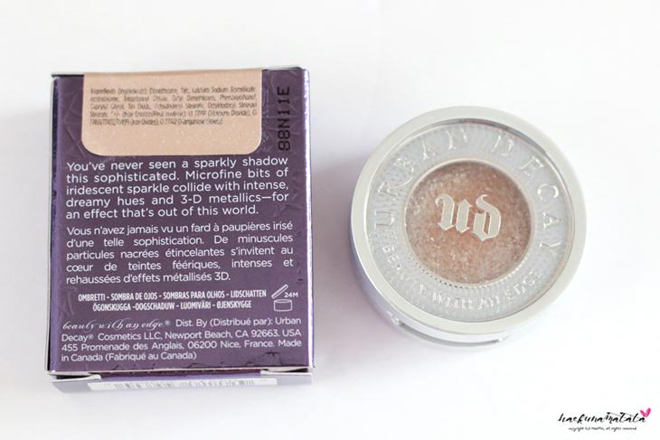 All About Glitter: Urban Decay Moondust Eyeshadow Space Cowboy