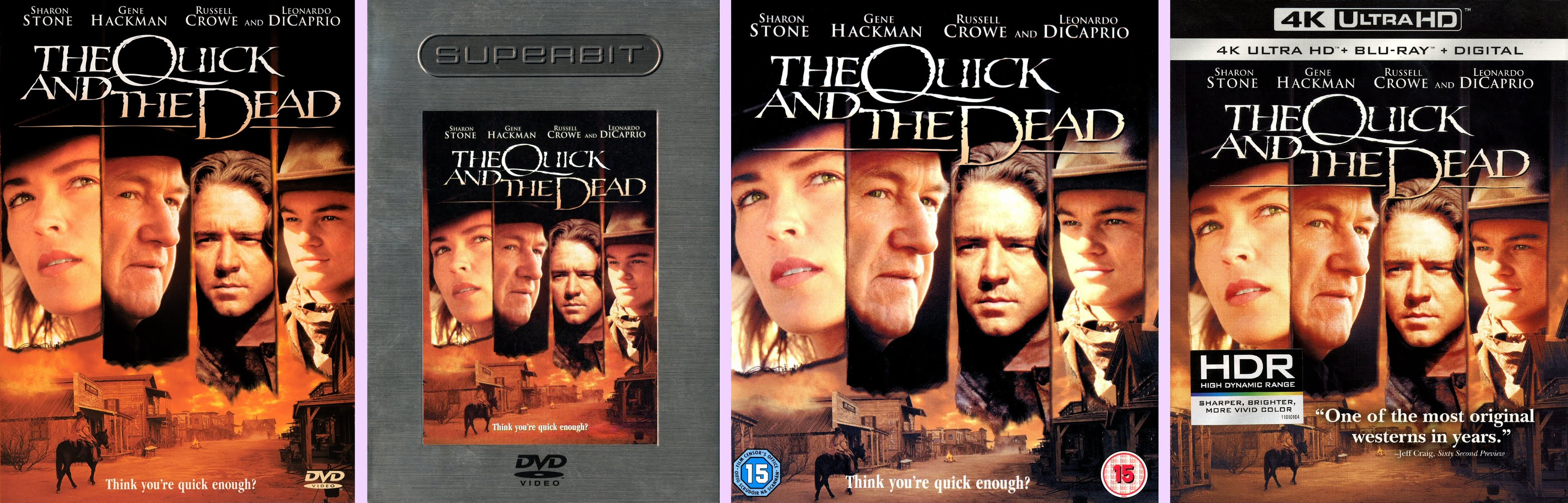 the quick and the dead 1995 cast
