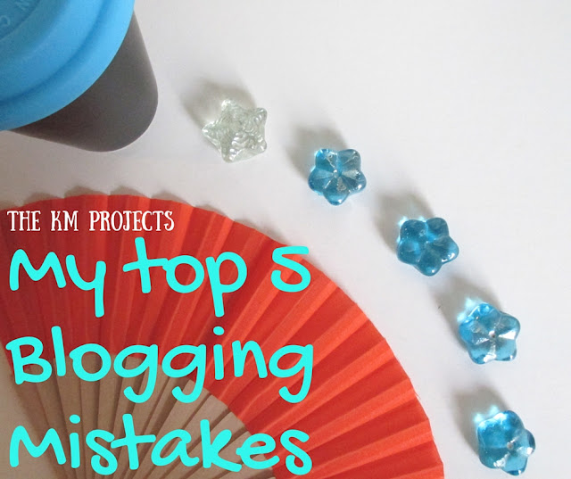 My top 5 mistakes as a blogger