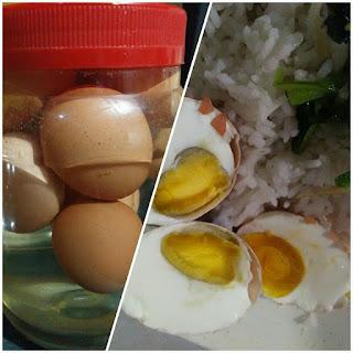 Cara Buat Telur Masin Pakai Telur Ayam