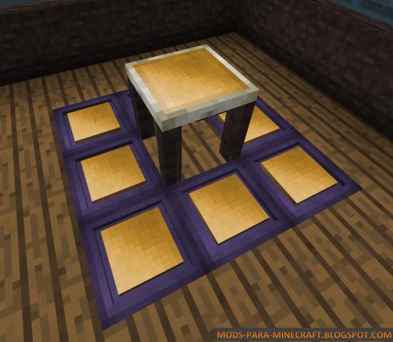 Tablas de colores para decoración - Chisels & Bits Mod 1.9