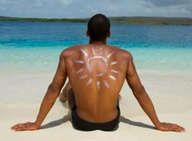 sunscreen infertility in men